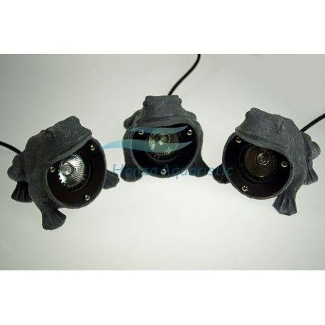 3 X LAMPA HALOGENOWA ŻABA CQD-235F 3 X 20W